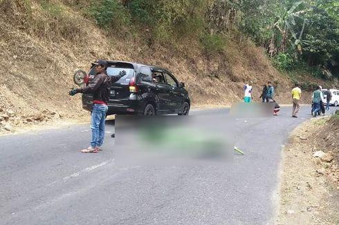 Tabrakan Maut di Cianjur, Satu Pengendara Motor Tewas