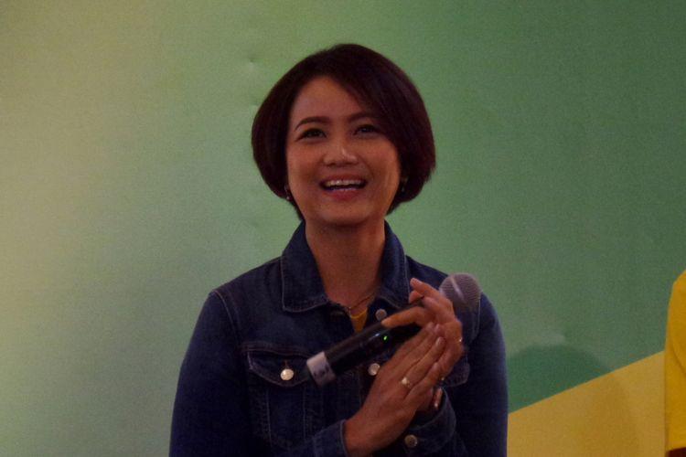 dr. Juwalita Surapsari, MGizi, SpGK pada acara peluncuran produk Good to Go dari Indomilk di Central Park Mall Jakarta, Rabu (30/1/2019).