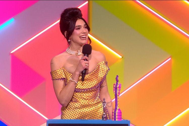 Dua Lipa menang di Brit Awards 2021