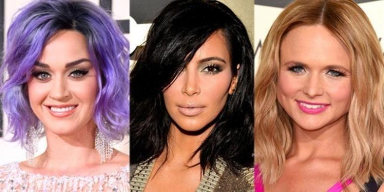 Tren Lob (long bob) dengan karakter penataan yang lebih natural terlihat pada tatanan rambut Katy Perry, Kim Kardashian dan penyanyi country, Miranda Lambert.