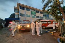 Jenazah Covid–19 di RS Haji Darjad Samarinda Dimakamkan Pihak Keluarga