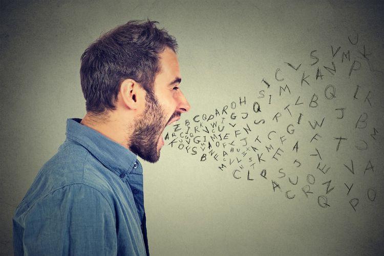 ilustrasi ujaran kebencian, hate speech