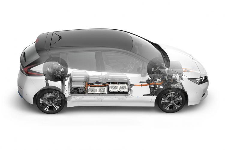 Spesifikasi Mobil Listrik Nissan Leaf Terbaru