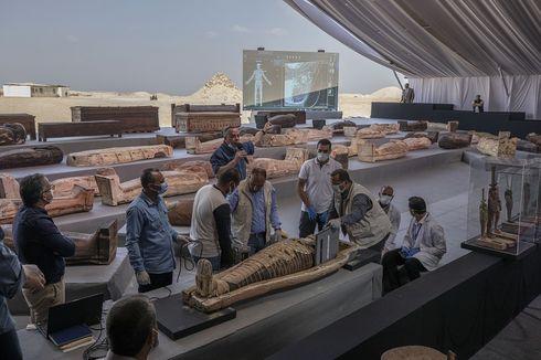 Saat Mesir Gelar Parade Megah untuk Pindahkan 22 Mumi Firaun...