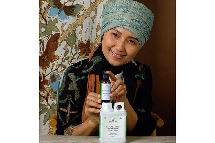 Maharani Kahiyang memiliki dua produk utama, yaitu Eucalyptus Globulus dan Cajuput Essential Oil. (DOK. MAHARANI KAHIYANG)