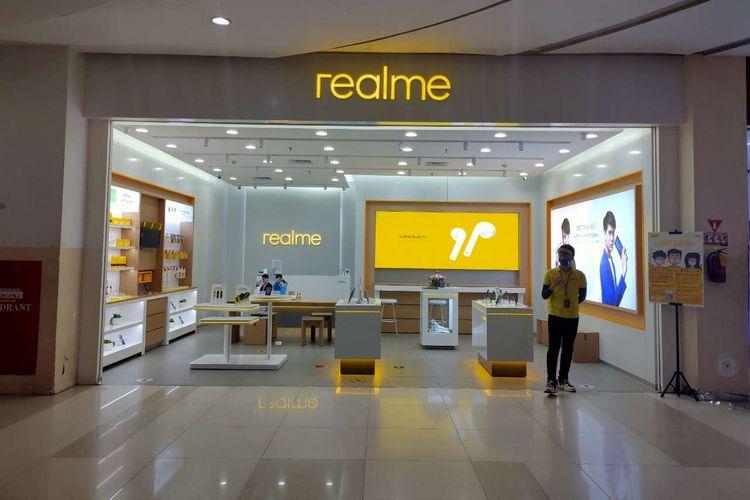 Realme Exclusive Store di Cibinong City Mall.