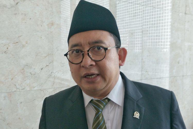 Fadli Zon di Kompleks Parlemen, Senayan, Jakarta, Kamis (22/8/2019).