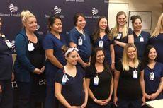 Fenomena Unik, 16 Perawat di Rumah Sakit Ini Hamil Bersamaan