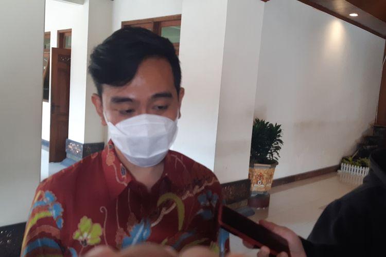 Wali Kota Solo, Gibran Rakabuming Raka di Balai Kota Solo, Jawa Tengah, Rabu (9/6/2021).