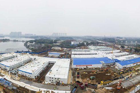 China Bangun Kompleks Karantina Covid-19 Seukuran 46 Lapangan Sepak Bola