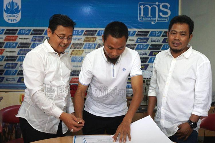 M Ridwan resmi bergabung dengan PSIS Semarang.
