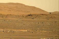 Pertama Kalinya, Terdengar Suara Helikopter NASA Saat Terbang di Mars