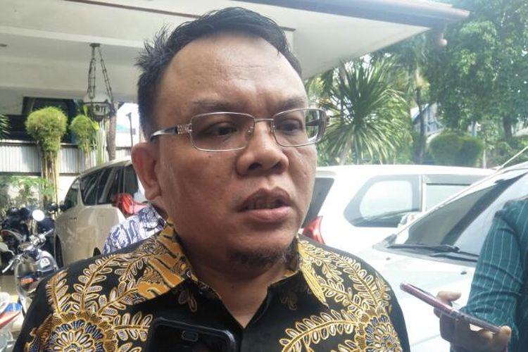 Anggota Komisi IX DPR Saleh Partaonan Daulay di Kawasan Mampang, Jakarta Selatan, Kamis (20/2/2020)