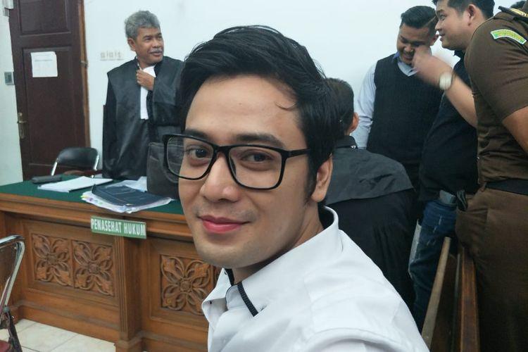 Kriss Hatta jalani sidang lanjutan di Pengadilan Negeri Jakarta Selatan, kawasan Ampera, Cilandak, Selasa (12/11/2019).