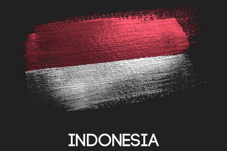 Ilustrasi nasionalisme Indonesia.