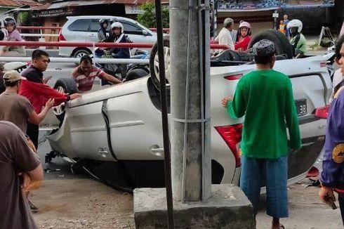 Fakta Kecelakaan Rombongan The Panturas, Mobil Terbalik dan 4 Orang Terluka
