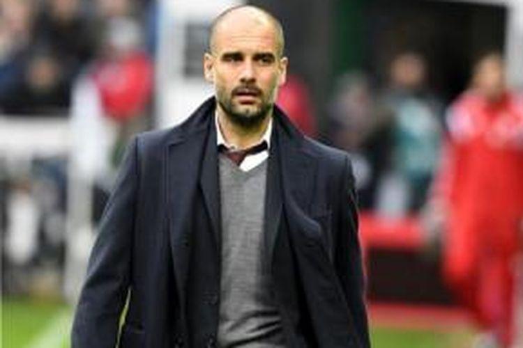 Pelatih asal Spanyol, Josep Guardiola.