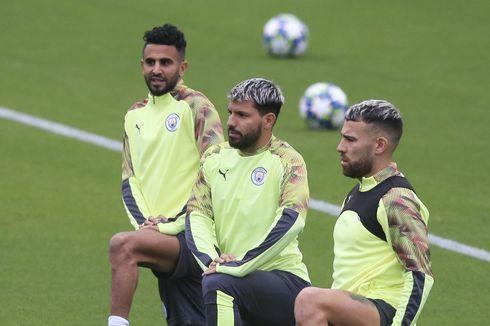 Aston Villa Vs Man City, Mahrez Sebut Aguero Legenda