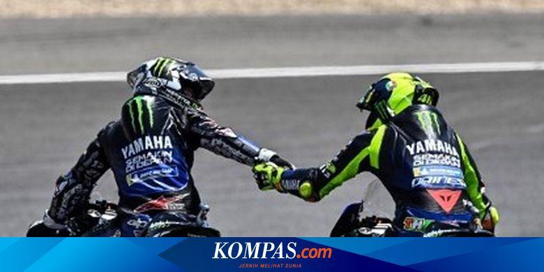 MotoGP Emilia Romagna, Kabar Baik bagi Rossi-Vinal