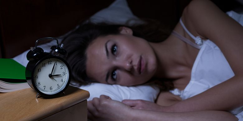 Ilustrasi insomnia