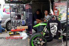 Diskon Aksesori Supermoto Caos Custombike di Bazaar Bagasi