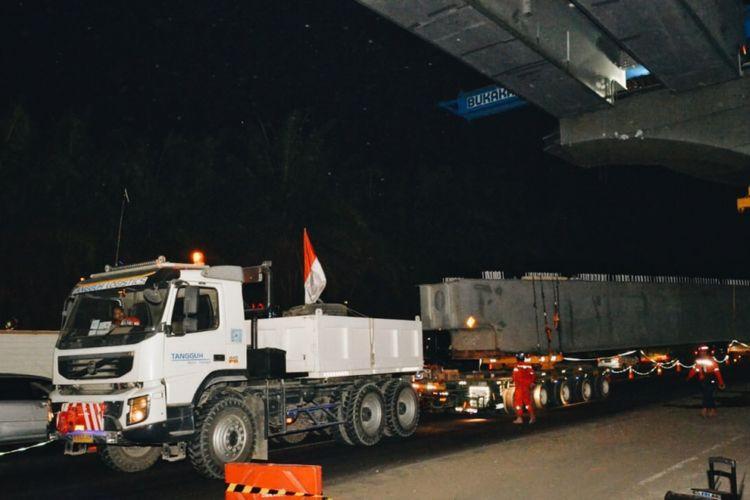 Pekerjaan konstruksi Tol Jakarta-Cikampek II (Elevated).