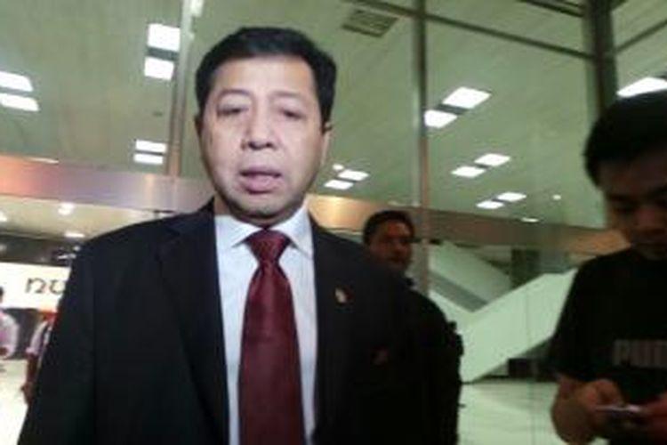 Ketua DPR 2014-2019 Setya Novanto