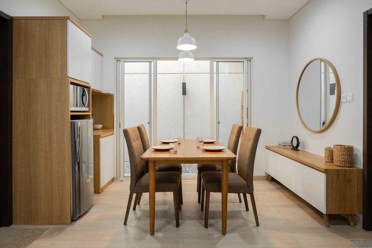 Ruang makan minimalis karya Fiano Modern Interior
