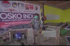 FTI UMI Rakit Pembangkit Tenaga Surya untuk Penerangan 300 Tenda Pengungsi Gempa Sulbar