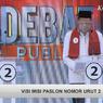 Debat Terakhir Pilkada Depok, Idris Tampil Virtual walau Sudah Negatif Covid-19
