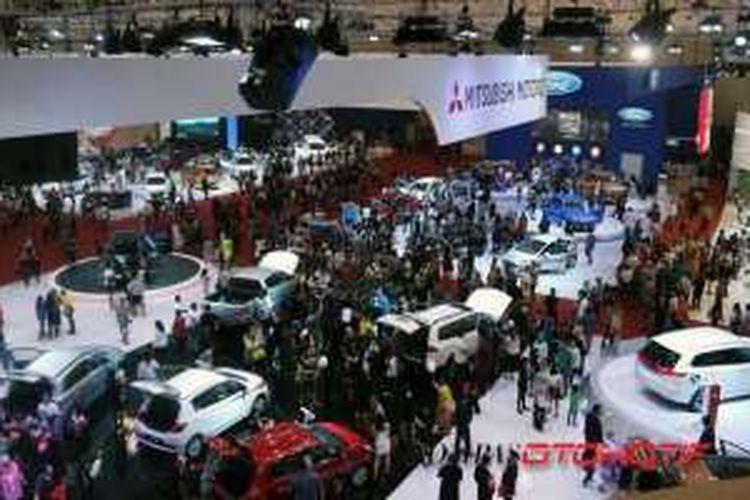 Gaikindo Indonesia International Auto Show 2015.
