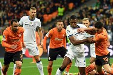 HT Shakhtar Donetsk Vs Inter Milan - Skor Kacamata Tutup Paruh Pertama