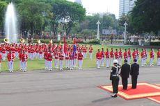 Aksi Demonstrasi Sempat Ganggu Upacara Kenegaraan di Istana Merdeka