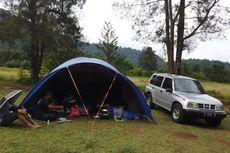 Serunya Camping di Cibodas, Mobil  Bisa Parkir Samping Tenda
