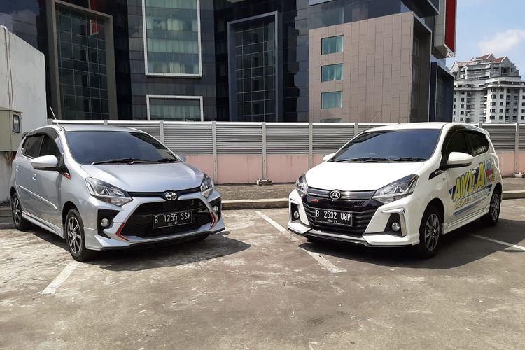 Komparasi duo LCGC Toyota Agya dan Daihatsu Ayla facelift 2020