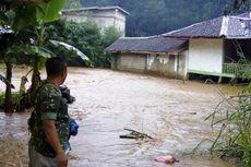 Tanggul Jebol di Cianjur Sebabkan Banjir di Permukiman dan Sawah