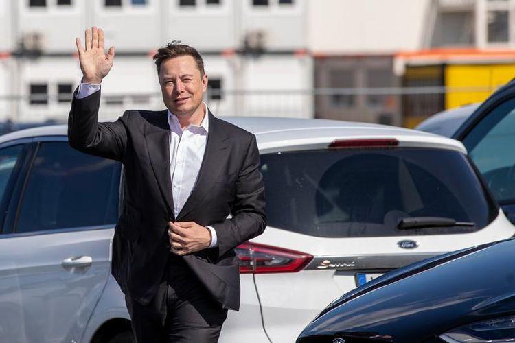 CEO Tesla, Elon Musk.