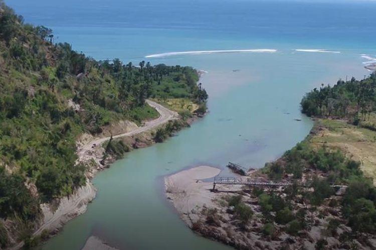 Jembatan Termanu di Kabupaten Kupang