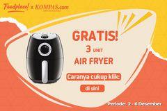 GRATIS Air Fryer dari FoodPlace