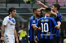 Inter Vs Brescia, Conte Puas Alexis Sanchez dkk Dominasi Laga