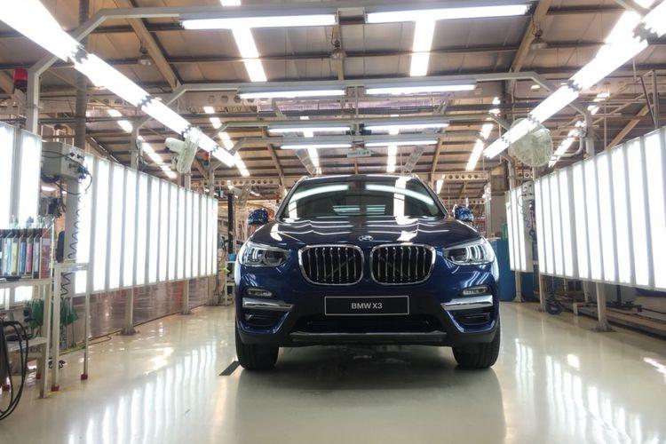 All-new BMW X3 yang diproduksi di BMW Production Network 2, PT Gaya Motor.