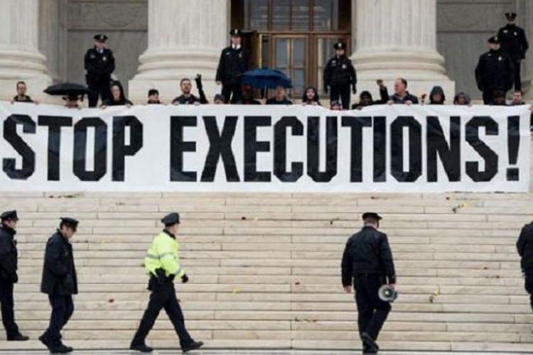 Jumlah orang yang dieksekusi di AS makin menurun sejak 1999.