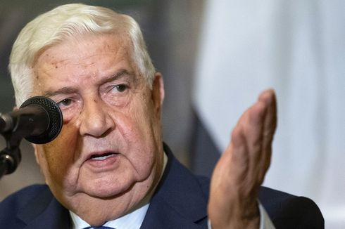 Menteri Luar Negeri Suriah Terlama, Walid Al Muallem Tutup Usia