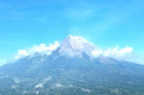 Kubah Lava Baru Muncul di Puncak Gunung Merapi