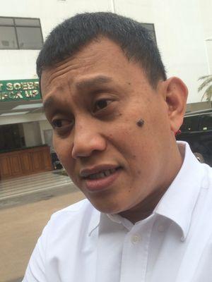 Sekretaris Jenderal Partai Kebangkitan Bangsa (PKB) Abdul Kadir Karding di RSPAD Gatot Subroto, Jakarta, Minggu (12/8/2018).