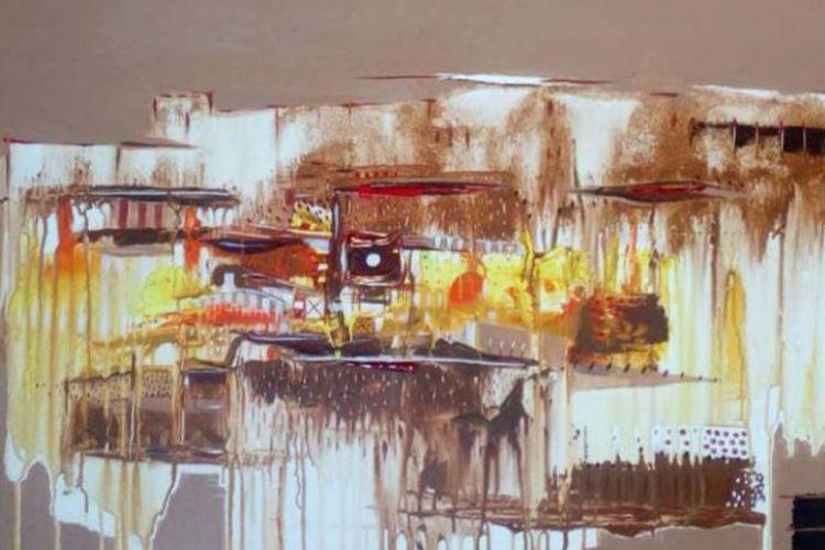 Lukisan Negeri Tanah Emas karya Anang Prasetyo