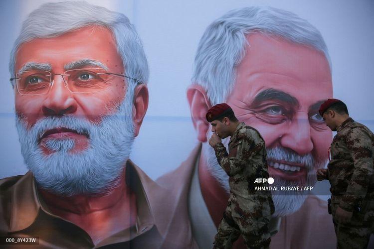 Irak telah melakukanserangan berulang kali terhadap target Amerika sejak pembunuhan terhadap jenderal Iran Qasem Soleimani dan komandan Irak Abu Mahdi al-Muhandis oleh Washington pada Januari 2020.