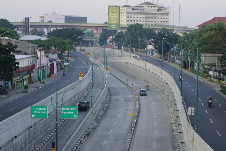 Suasana Jakarta saat Lebaran 5/6/2019