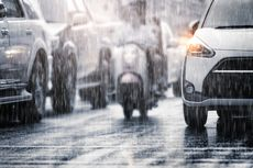 Prakiraan Cuaca BMKG: Sebagian Besar Jabodetabek Hujan Hari Ini