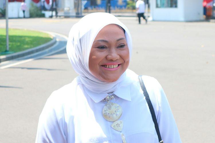Menteri Tenaga Kerja Kabinet Indonesia Maju, Ida Fauziyah.